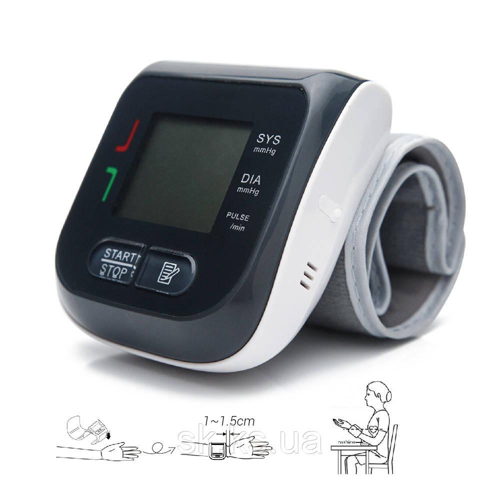 Тонометр автомат eco 10 - запясный  неординарный дизайн