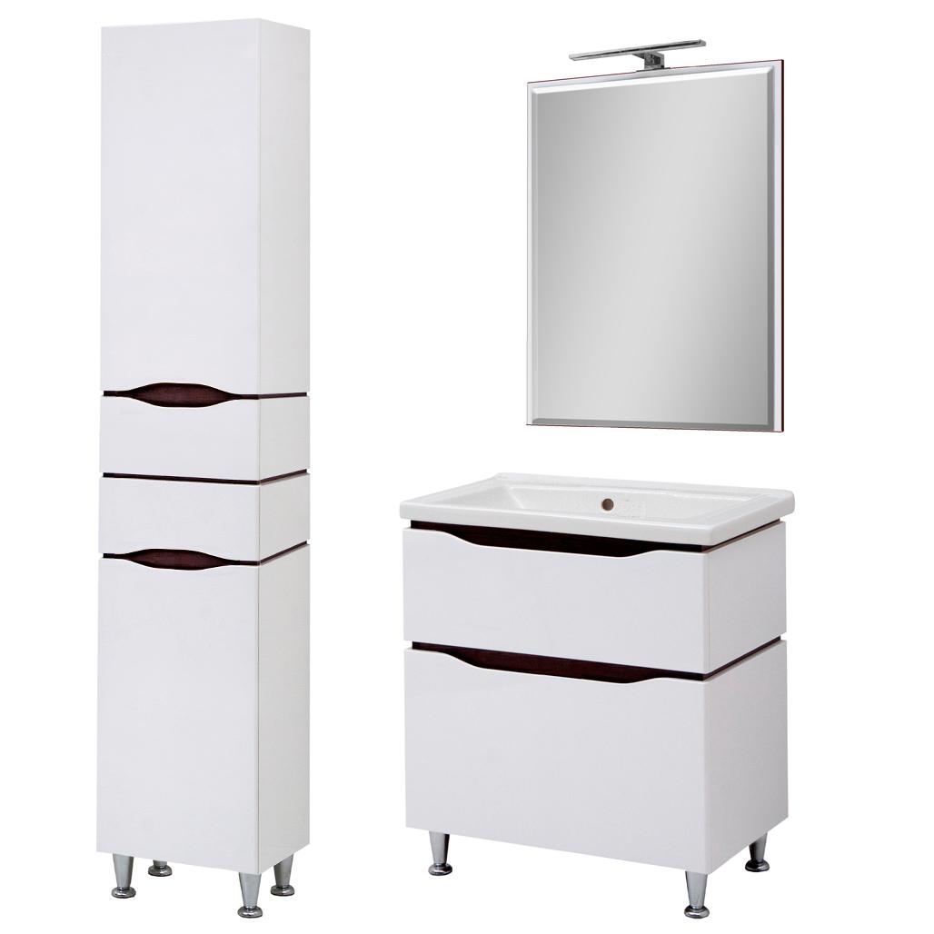 Комплект мебели для ванной комнаты Сенатор 60 напольный с зеркалом  Юввис