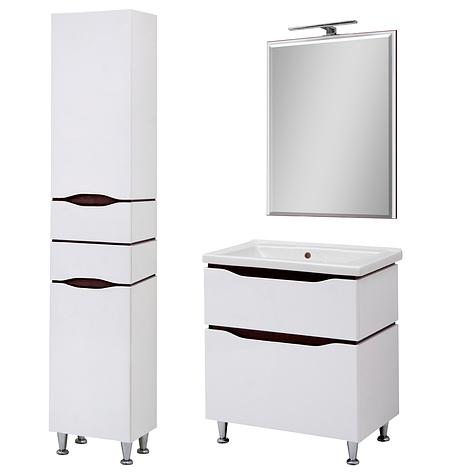 Комплект мебели для ванной комнаты Сенатор 60 напольный с зеркалом  Юввис, фото 2