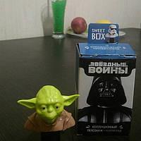 Sweet box іграшка Зоряні війни + цукерка желе 10г., фото 1