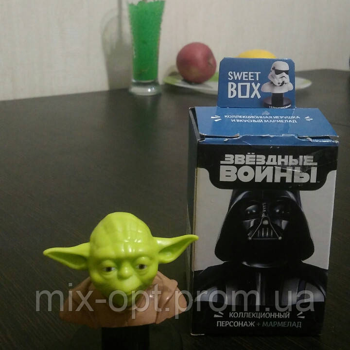 Sweet box игрушка Звёздные войны + конфета желе 10г., фото 1