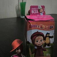 Sweet box іграшка Маша і Ведмідь + цукерка желе 10г.