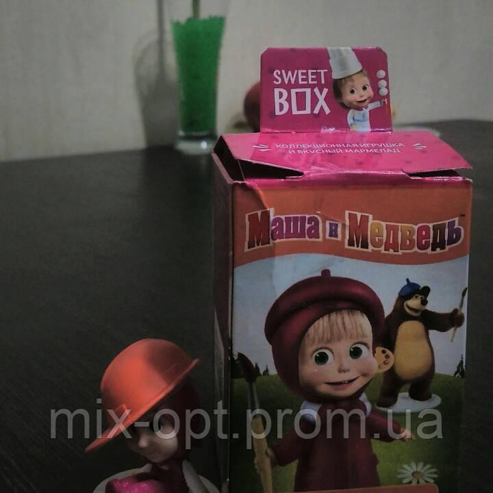 Sweet box игрушка Маша и Медведь + конфета желе 10г., фото 1