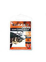 Крючки  Select Carp Curve Shank #6