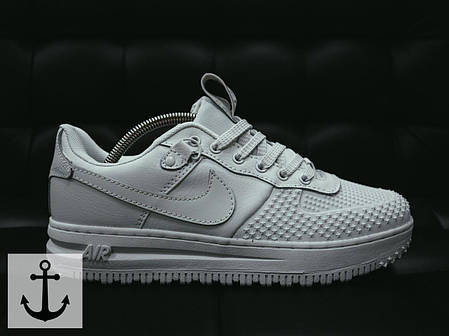 Мужские кроссовки Nike Dark Buts V2 белые топ реплика, фото 2