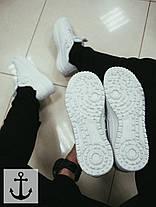 Мужские кроссовки Nike Dark Buts V2 белые топ реплика, фото 3