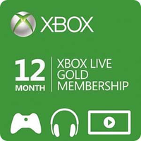 Xbox Live GOLD 12 месяцев (RU)