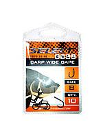 Крючки Select Carp Wide Gape #8