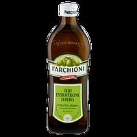 Оливковое масло Farchioni Extra Virgin Olive Oil l, холодный отжим стекло 1л, Италия