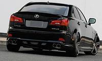 Тюнинг накладка на задний бампер (Wald) Lexus IS