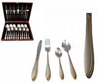 Набор столовых приборов на 6 персон(24 предмета) в кейсе