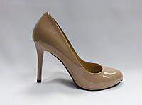 Лаковые кожаные туфли на каблуке Erisses .Маленькие ( 33 - 35 ) размеры., фото 1