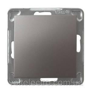 Выключатель однополюсный 16AX, 250V, 3520W, IP-20, титан