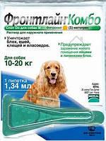 Капли от блох для собак Frontline Combo Spot-on-Marial (Фронтлайн Комбо Спот-он Мэриал) 10-20  кг