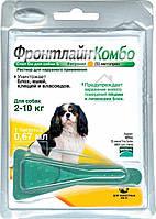 Капли от блох для собак Frontline Combo Spot-on-Marial (Фронтлайн Комбо Спот-он Мэриал) 2-10 кг