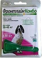 Капли от блох для собак Frontline Combo Spot-on-Marial (Фронтлайн Комбо Спот-он Мэриал) 20-40  кг