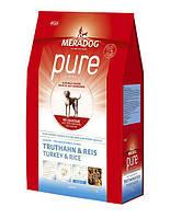 """Корм Meradog """"Pure Truthahn & Reis"""" для взрослых собак с индейкой и рисом 12,5 кг"""