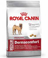 Корм для собак Royal Canin Medium Dermacomfort  (Роял Канин Медиум Дермакомфорт) 10 кг