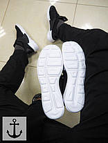 Мужские кроссовки Nike arrowz черные топ реплика, фото 2