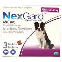 Таблека для собак от блох и клещей Merial Nexgard (Мэриал Нексгард) 10-25 кг (1 таблетка)