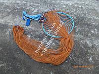 Кастинговая сеть Американка фрисби кольцо  нить  парашут  4.2 м диаметр 2 высота ∅12мм ,для промышленного лова