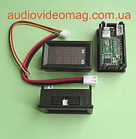 Амперметр-Вольтметр 10А / 100V для постоянного тока, в корпусе