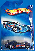 Базовая машинка Hot Wheels  Panoz GTR-1 Blue