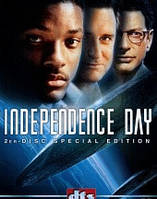 DVD-диск День независимости (У.Смит) (США, 1996)