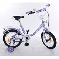 """Детский Велосипед Profi Flower 14"""" , фиолетовый"""