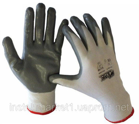 Перчатки рабочие трикотажные полиэстер Werk WE2109H