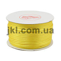 Корсетный шнур, круглый, 2 мм, желтый, заказ делайте через сайт в описание товара