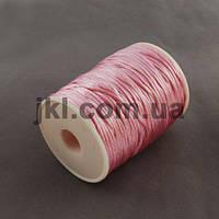 Корсетный шнур, круглый, 2 мм, розовый, заказ делайте через сайт в описание товара