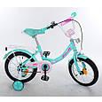 """Двухколесный велосипед  Profi Princess  14"""" Розовый, фото 4"""