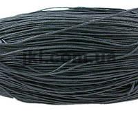 Шнур вощеный, 2 мм, черный, заказ делайте через сайт в описание товара