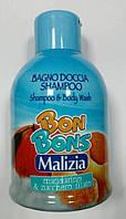 Malizia шампунь-гель «Mandarino-Zucchero filato» 500 мл
