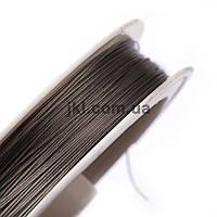 Струна ювелирная, 0.3 мм, цвет серебристый, заказ делайте через сайт в описание товара