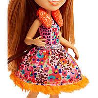 Кукла Enchantimals Энчантималс Гепард Чериш Cherish и рысенок Квик-Квик FJJ20, фото 5