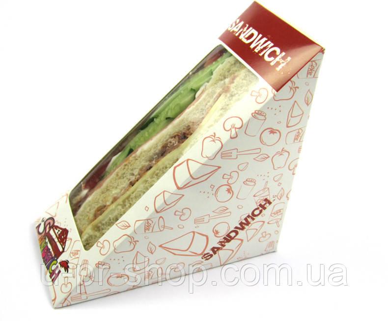 Упаковка для сендвичей от 1000 шт.