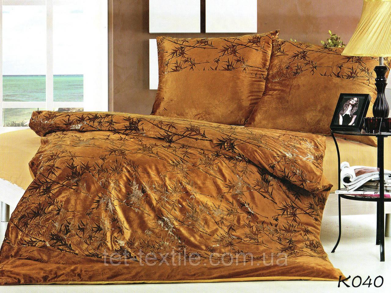 Комплект постельного белья из сатина и микрофибры 160х220