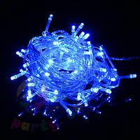 ГИРЛЯНДА НИТЬ светодиодная,10 метров- синий