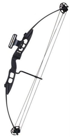 "Лук блочный EZ Archery Bowmax 30-50 Lbs RH 23-31"" Black"