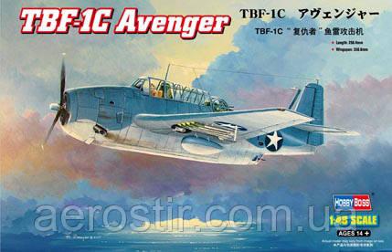 TBF-1C Avenger 1/48 Hobby Boss 80314