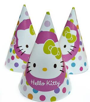 Колпак для вечеринки Hello Kitty 15 см