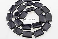 """Авантюрин """"Ночь Каира"""" бусины 18*13 мм, ~23 шт / нить, натуральные камни, на нитке, темно-синий, заказ делайте через сайт в описание товара"""