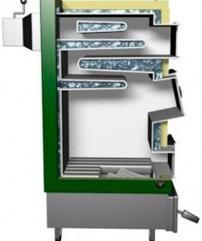 Котел твердотопливный Котел DREW-MET серии MJ-1, 17 кВт (дрова, уголь)