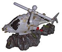 Декор в аквариум Керамика Вертолёт 17,5*8*11см