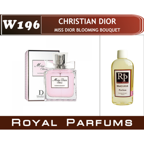 Духи на разлив Royal Parfums W-196 «Miss Dior Blooming Bouquet» от Christian Dior
