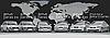 Схема для бисера Автомобильная мечта
