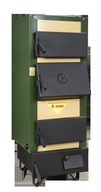 Котел твердотопливный DREW-MET серии MJ-1, 20 кВт (дрова, уголь)