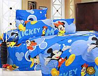 Комплект детского постельного белья Микки и Минни